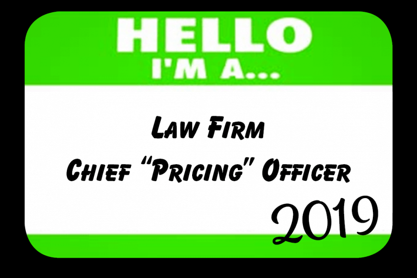 "Chief ""Pricing"" Officers Continued Record-Setting Pace in 2019"